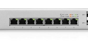 UniFi Switch 8-150W PoE網管型交換器